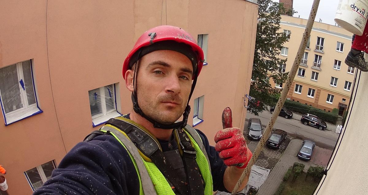 Malowanie ścian i elewacji budynków