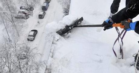 usuwania sopli i nawisów śnieżnych w Warszawie